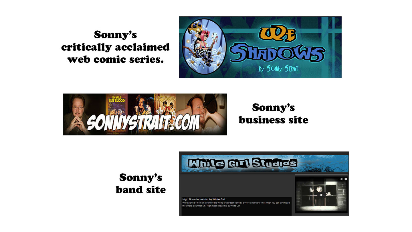 Sonny Strait's Websites