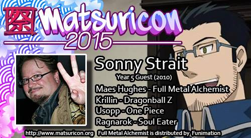 Come meet Sonny at Matsuricon this summer!