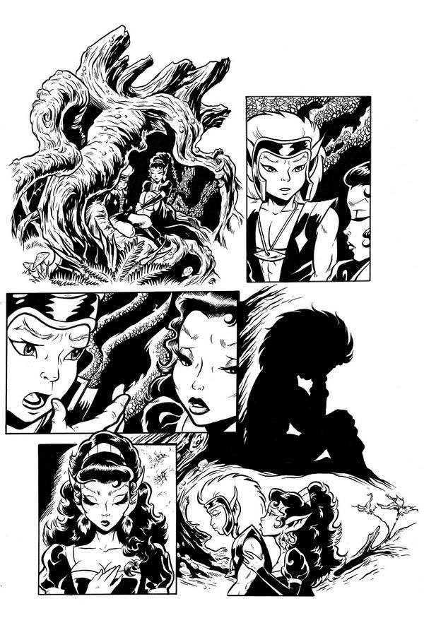 more_elfquest_by_sonion